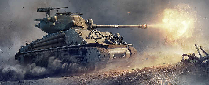 Sherman Fury: ����� � World of Tanks!