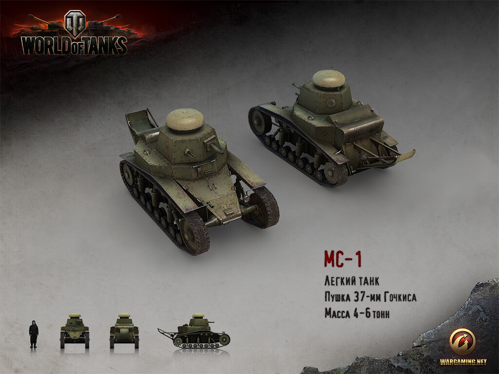 МС-1 | World of Tanks