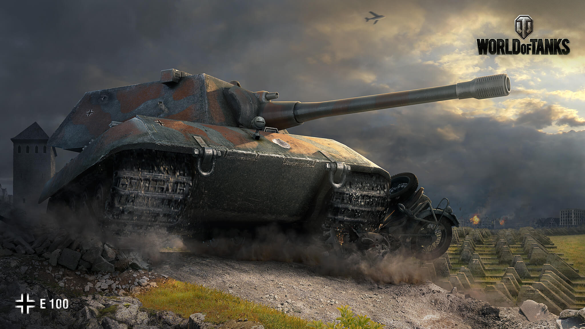 Е-100 | Арт | World of Tanks